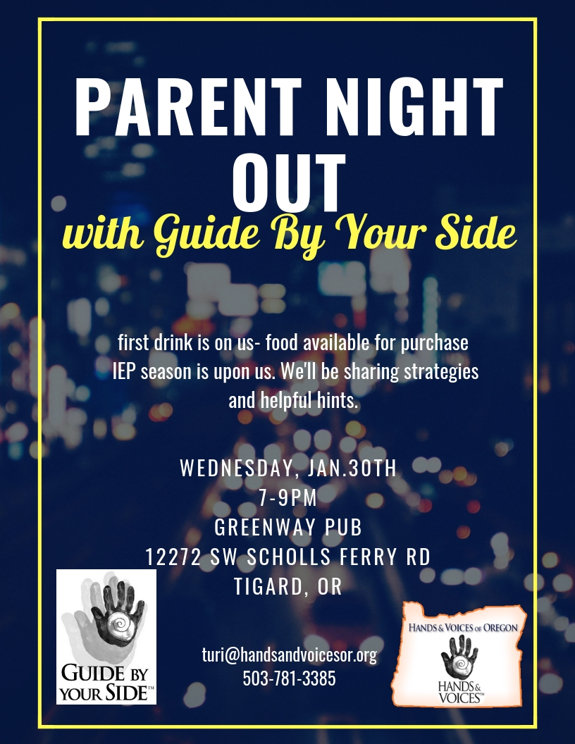 Parents Night Out, Portland!